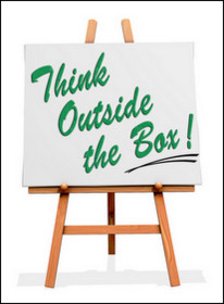 think outside the box cliche