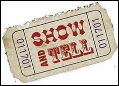 show and tell ticket stub