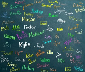 Choosing a name for your fictional characters